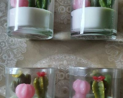 Garden Party Candles Set of 4pcs ( NOTE CROSSPOSTED)