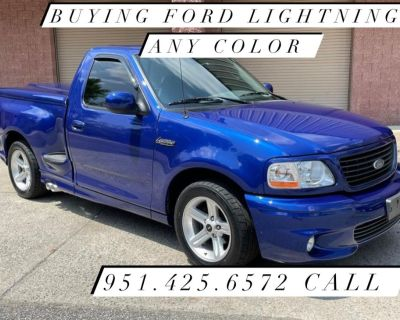 Ford lightning wanted