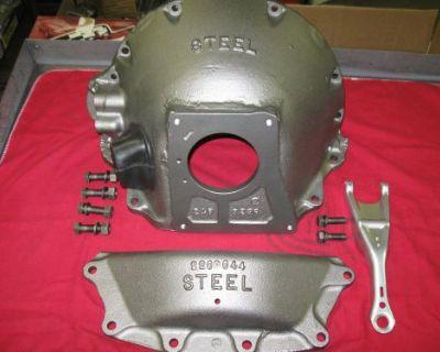 1964 426 Race Hemi A864 Nos Steel Bellhousing Plymouth Dodge Max Wedge 2463235
