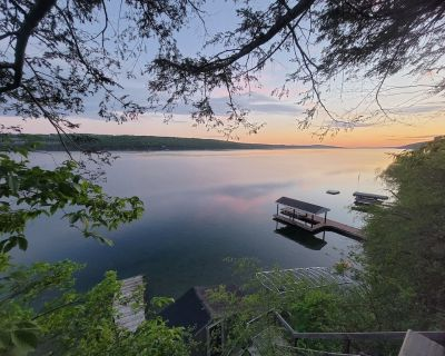 Romantic Lakefront Cottage with incredible sunset views - Rushville