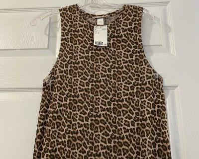 Cheetah Print Long Dress