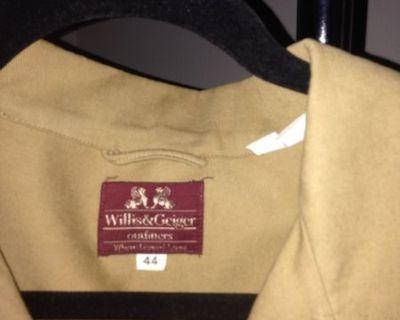 FS Willis@ Geiger bush jacket