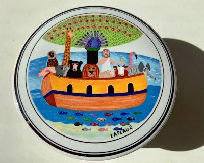 Villeroy Boch Porcelain Trinket Box Noah's Ark