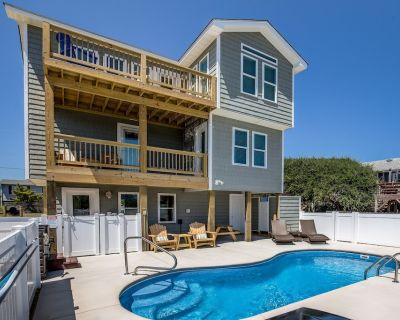 The Salty Sailor | 785 ft from the beach | Private Pool, Hot Tub | Kitty Hawk - Kitty Hawk