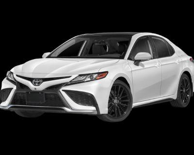 New 2021 TOYOTA Camry XSE V6 4 door Front Wheel Drive