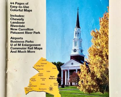 ADC PRINCE GEORGE'S COUNTY, MARYLAND: Street Map Book (29th Edition)