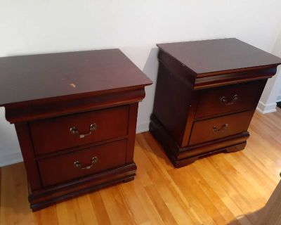 2 sides table
