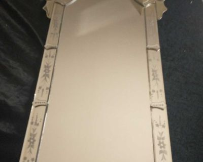 Venetian Hollywood style mirror