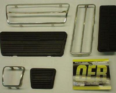1969 - 1981 Camaro Drum Brake Pedal Pad Kit * 1970-1981 Firebird *1969-1977 Nova