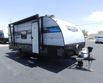 2021 Forest River SALEM 178DB, FRONT MURPHY BED, REAR DUAL BUNK BEDS, POWER AWNING, SLEEPS 5, ONLY 3830 LBS!