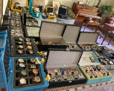 Eclectic Estate Sale Toyota Car - Jewelry Watches Limoges Swarovski Mid Century