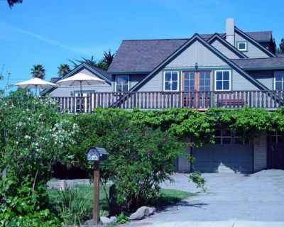 The Green House -Unique Handcrafted Home - 1.5 blocks to awesome beach - Eastside Santa Cruz