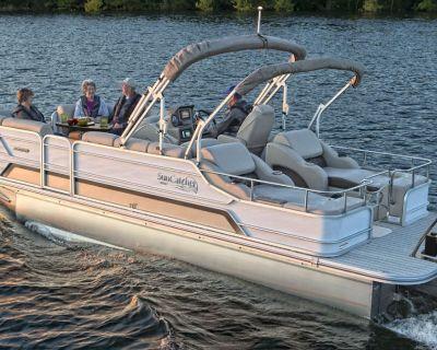 2022 SunCatcher ELITE 324 SS Pontoon Boats Kenner, LA
