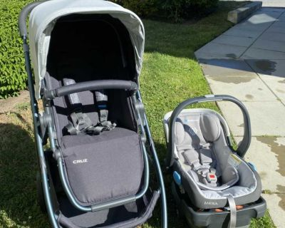 UPPAbaby Cruz Stroller and Mesa Car Seat