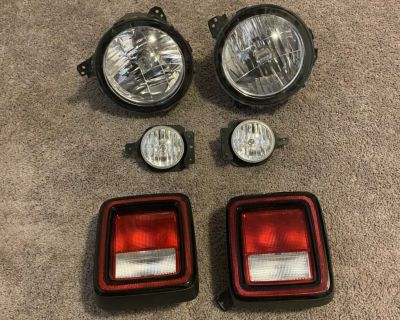 2020 Jeep Wrangler lights (bundle)