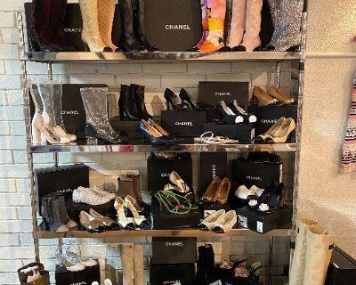 Incredible Designer Wardrobe Sale- Chanel, Valentino, Gucci & More!