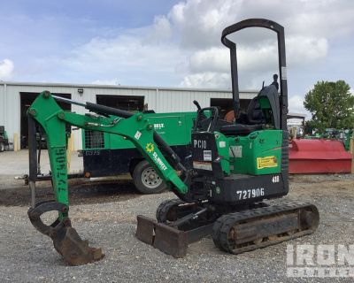 2015 Bobcat 418AA Mini Excavator
