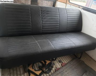 69 Bay window rear seat
