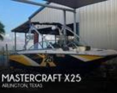 25 foot Mastercraft 25