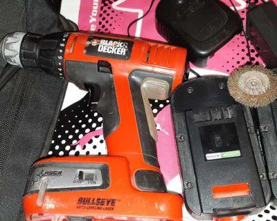 Black & Decker 18 ,volt drill