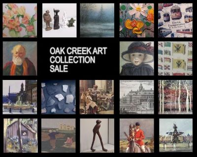 Oak Creek, WI Art Collection Downsizing Online Auction by Caring Transitions - Ends 9/22!