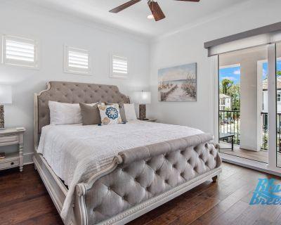 Blue Breeze Luxury House ~ 6-seat Golf Cart ~ Pinball Machine ~ Stranger Things - Miramar Beach