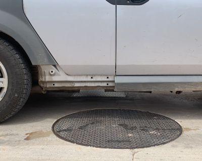 Passenger rear side sill