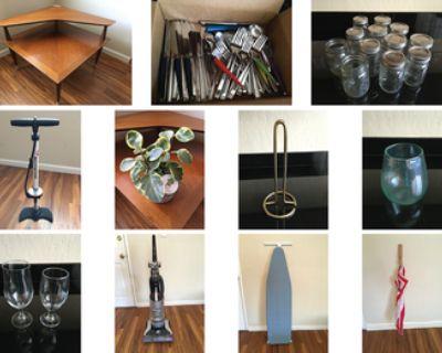 Kitchen Items, Vacuum, Biking Accessories