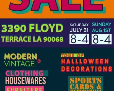 Young, Eclectic Producer - Almost Everything Must Go - MOVING SALE