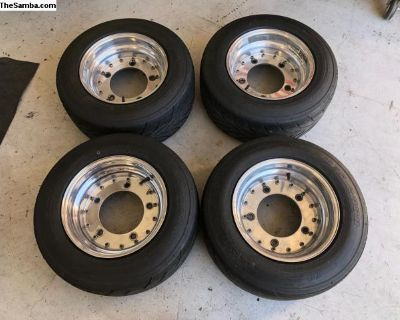 13 Inch Aluminum Wheels & Tires