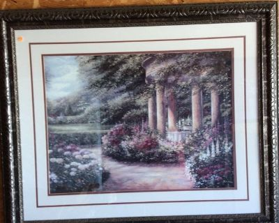Various Large framed pictures