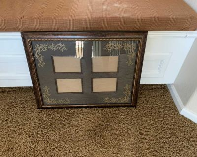 Large Nice quality frame fits 4 5x7 pictures