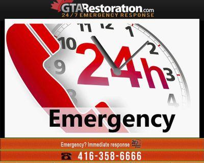Plumbing Emergency Toronto Plumber Water Damage Service
