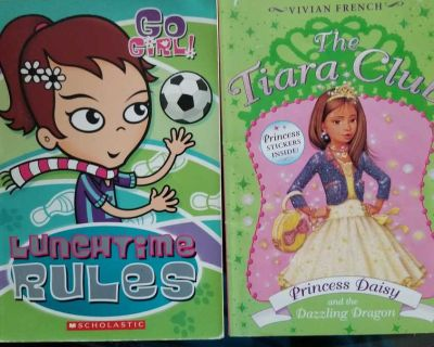 2 Used Scholastic Chapter Books
