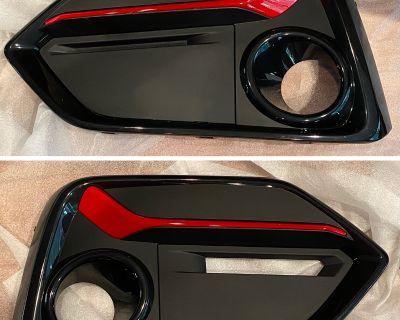 Michigan - 2020 Front Bumper Garnish (Rallye Red) + Radar Cover