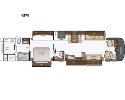 2022 Newmar London Aire 4579