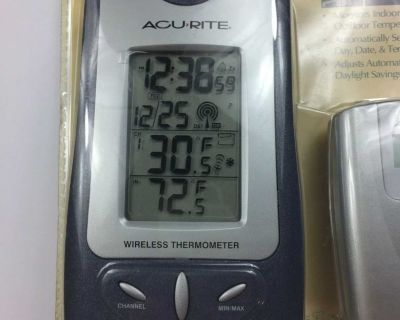 Acurite Wireless Weather & Atomic Clock