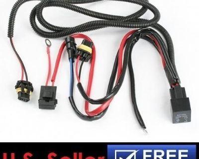 High Quality Hid H10 9005 9006 Headlight Fog Light Relay Wiring Harness