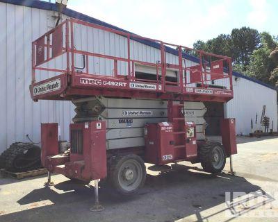 2012 (unverified) MEC 5494RT 4WD Diesel Scissor Lift