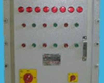 Flameproof Instrument Control Panel