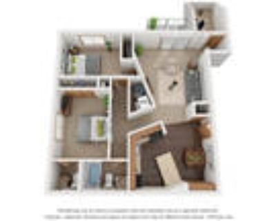 Monterey Apartments - Two Bedroom 1.5 Bath A With Den
