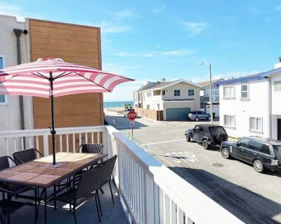 Oceanview Seconds to Beach!clean/fast Wifi/parking/bikes/washer 10% Off 7 + Days - West Newport