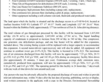 ENVIRONMENTAL PROTECTION NOTICE
