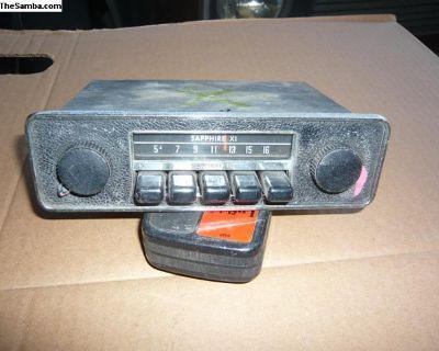 bug, ghia, bus and type 3 radio #8 M-B2