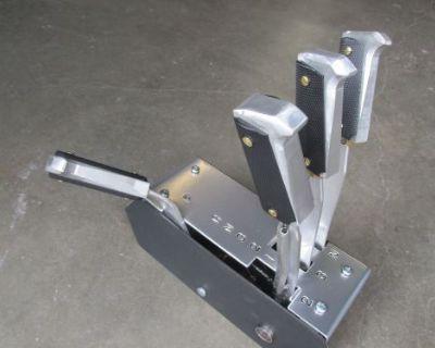 Kilduff Lightning Rod Shifter/ 1911 Colt 45 Grips / Linelock, Trans Brake Switch