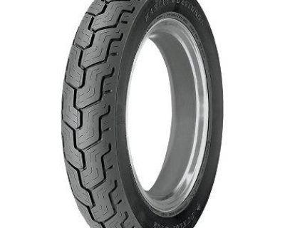 Harley Davidson Series Dunlop D402 Mu85b16 77h, Black, Rear Tire