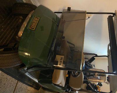 2001 EZ Go Golf Cart