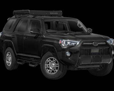 New 2021 Toyota 4Runner Venture 4 door Four Wheel Drive