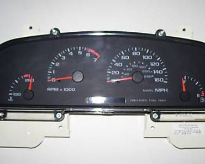96 Chevy Impala Ss 9c1 Speedometer Cluster Ipc Repair