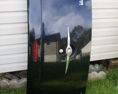 Trunk Hatch Tailgate Convertible 05 08 PT CRUISER TRUNKLID DECK LID BLACK HINGES
